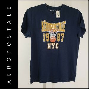 Aeropostale Men Spell Out T-Shirt Size Large Nwt
